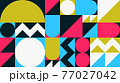 Abstract Geometric Vector Background 77027042
