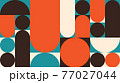 Abstract Geometric Vector Background 77027044