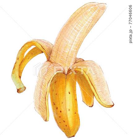 手描き飲食メニュー バナナ 77046606