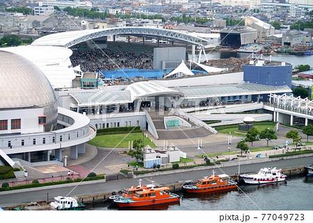 名古屋港ポートビルから見た名古屋港水族館 77049723