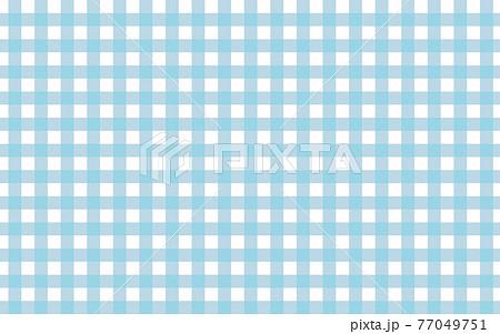 背景素材 シンプルなギンガムチェック柄 青 77049751