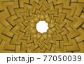 背景素材 シンプルな図形のパターン模様 77050039