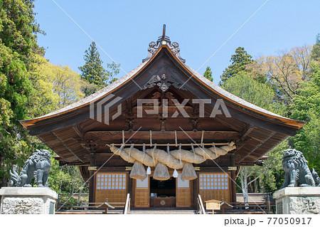 長野県 諏訪大社下社 秋宮 神楽殿 77050917