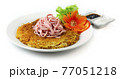 Fried Egg Noodles with Pork Ham (E Mee) Teochew Chaozhou Chinese Food 77051218