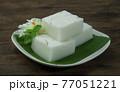 Coconut Milk Jelly Woon-Kati Thai Dessert 77051221