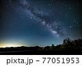八ヶ岳高原野辺山の天の川と夏の星座 77051953
