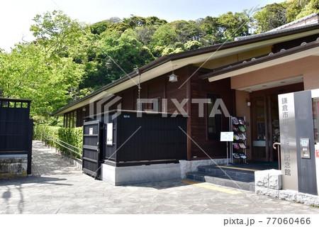 鎌倉市 川喜多映画記念館と新緑と散策路 77060466