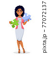 African American business woman 77072137