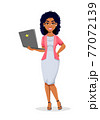 African American business woman 77072139