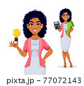 African American business woman 77072143