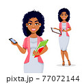 African American business woman 77072144