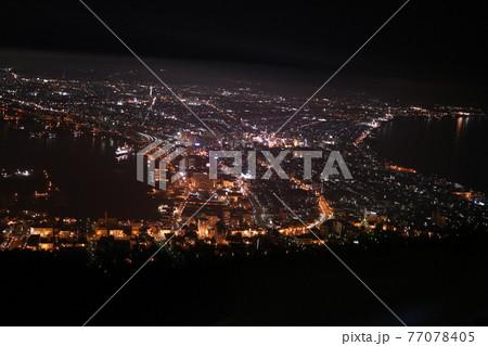 世界三大夜景 函館100万ドルの夜景 77078405
