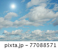 Cloudy sky background 77088571