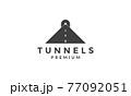 way to tunnels logo symbol icon vector graphic design illustration 77092051