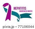 Hepatitis Awareness Month. 77106044
