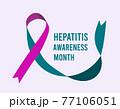 Hepatitis Awareness Month. 77106051