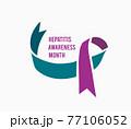 Hepatitis Awareness Month. 77106052