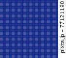 チェック柄の背景、青基調 77121190