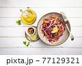 Fresh cabbage salad 77129321