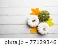 Autumn side border 77129346