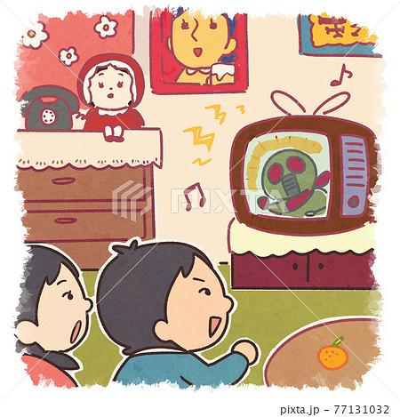 昭和時代の日本のイラスト 77131032