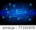 Circuit technology background with hi-tech digital 77162839
