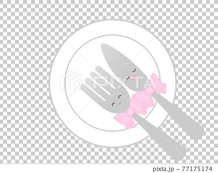 テーブルマナー(キャラクター風) 77175174