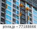 建築中の高層マンション 77188666