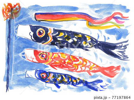 鯉のぼり21502pix7 77197864