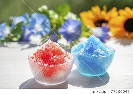 かき氷 夏イメージ 77230042