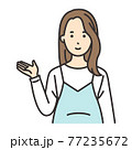 妊婦 ポーズ 案内 77235672