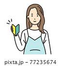 妊婦 ポーズ 初心者 77235674