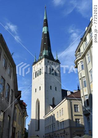 エストニアの街並み 77252021
