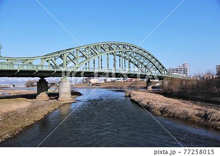 道北旭川のシンボル「旭橋」 77258015