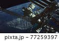 International Space Station. Elements of this image furnished by NASA 77259397