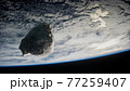 Dangerous asteroid approaching planet Earth 77259407