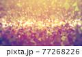 宝石風キラキラ背景素材 77268226