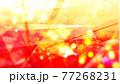 宝石風キラキラ背景素材 77268231