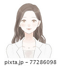 女性薬剤師・女性医師の正面 77286098