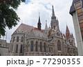 ハンガリー ブダペストのマーチャーシュ聖堂 77290355