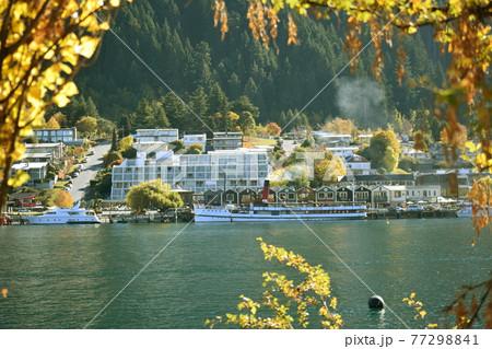 秋のクィーンズタウン ニュージーランド 77298841