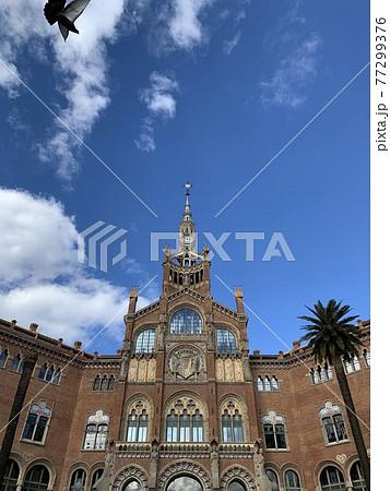 バルセロナ街を散歩中 77299376