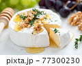 Camembert cheese with walnuts and honey 77300230