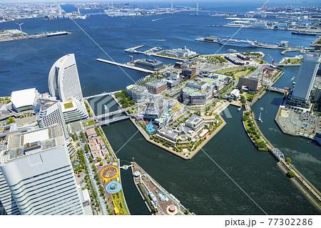 横浜ランドマークタワー展望台からの風景 77302286