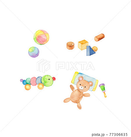 赤ちゃん用の玩具とぬいぐるみ 77306635