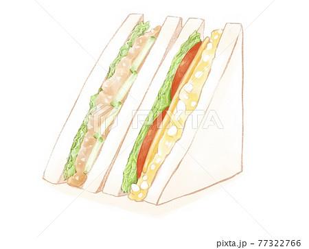 三角サンドイッチツナとたまご 77322766