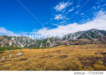 秋の立山室堂の美しい風景 77326390