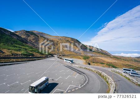秋の立山室堂の美しい風景 77326521
