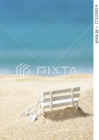 砂遊び 工事 海 砂地 整地 77326624