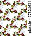 金魚・蓮・藻・渦 77328634